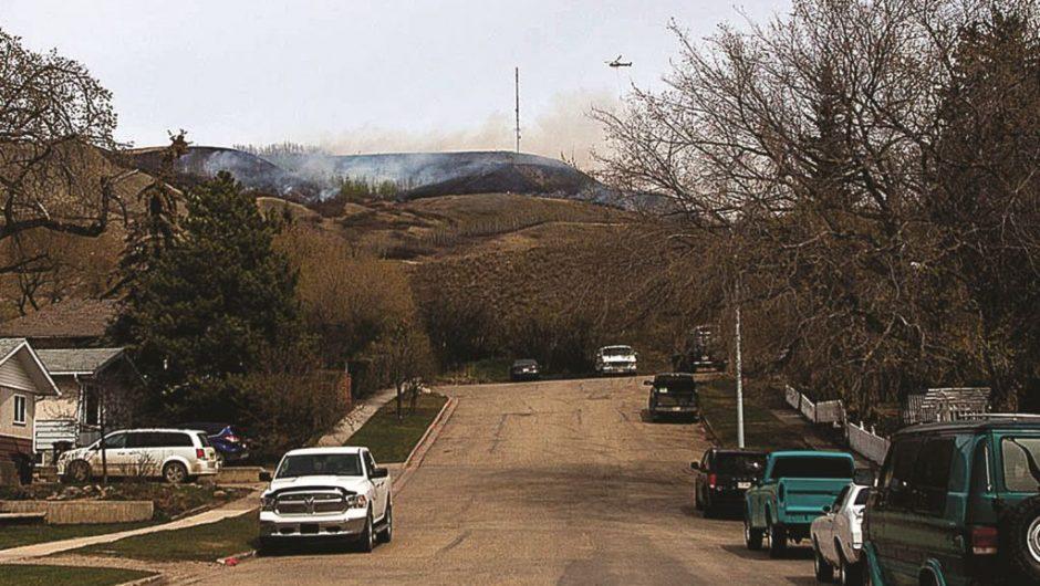 Twelve Foot Davis Gravesite wild fire