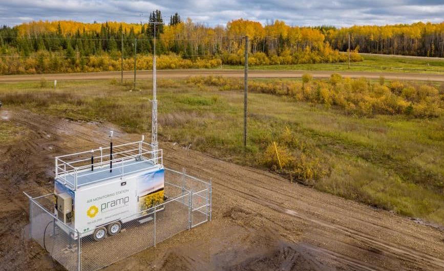 New air test station installed on Woodland Cree First Nation