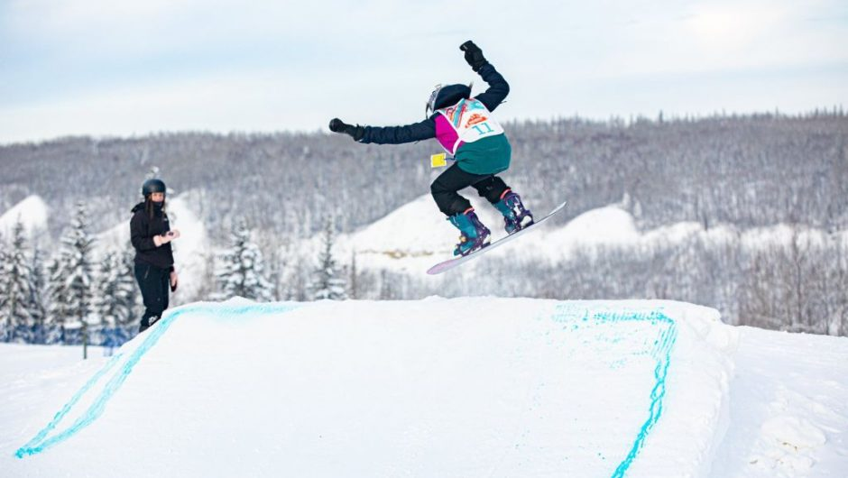 Girl takes to the slopes to hone her craft
