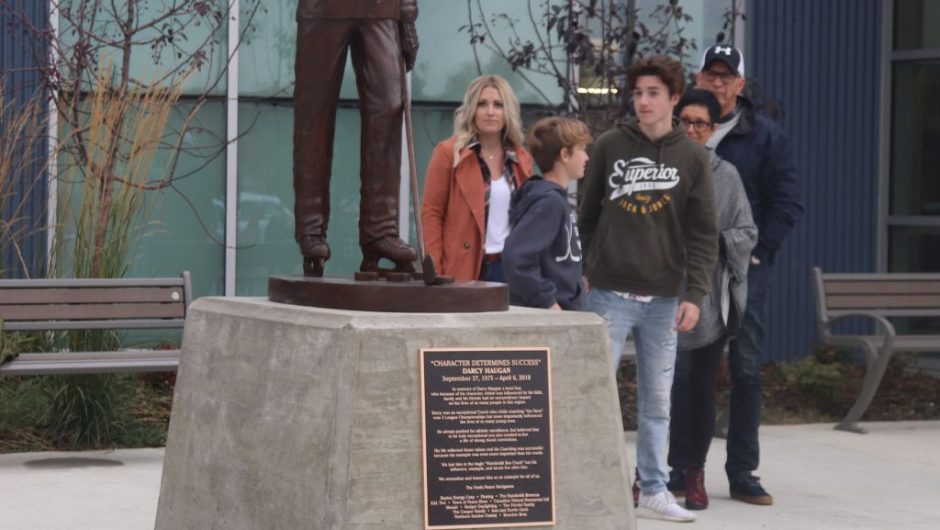 Statue honours special man