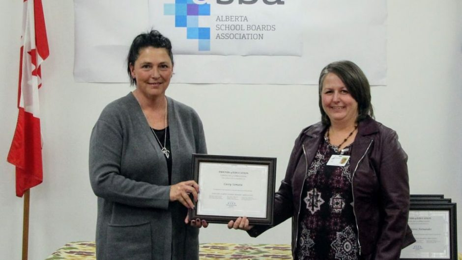 Suicide prevention advocate recognized