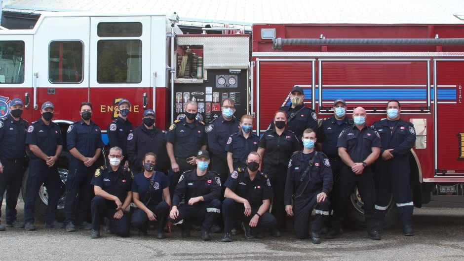 Fire Prevention Week – Embrace the theme, says Peace River department